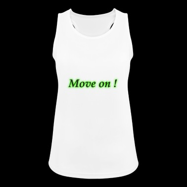 move on - Women's Breathable Tank Top