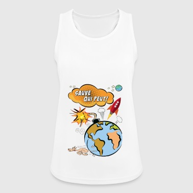 Sauve here peut - Women's Breathable Tank Top