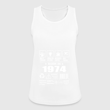 Born In 1974 - Women's Breathable Tank Top