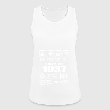 Born In 1937 - Women's Breathable Tank Top