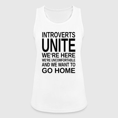 ++ Introverts Unite ++ - Women's Breathable Tank Top