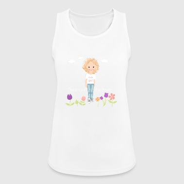 Pretty girl - Pustende singlet for kvinner
