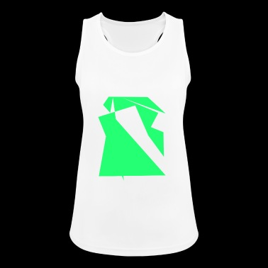 Green drawing - Women's Breathable Tank Top