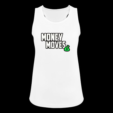 MONEY MOVES - Women's Breathable Tank Top