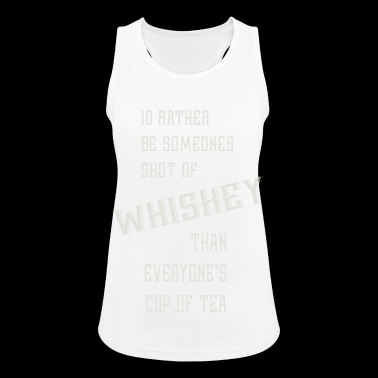 Shot of Whiskey - Pustende singlet for kvinner