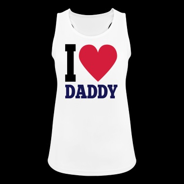 I Love Daddy - Pustende singlet for kvinner