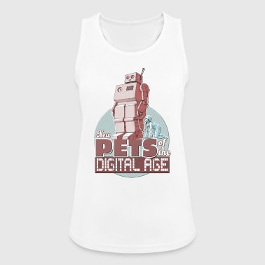 New Pets of the Digital Age - Women's Breathable Tank Top