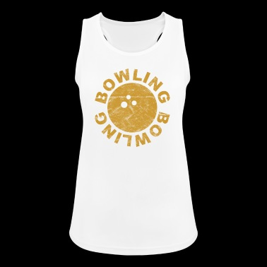 Bowling Bowling Ball Bowling - vintage - Women's Breathable Tank Top