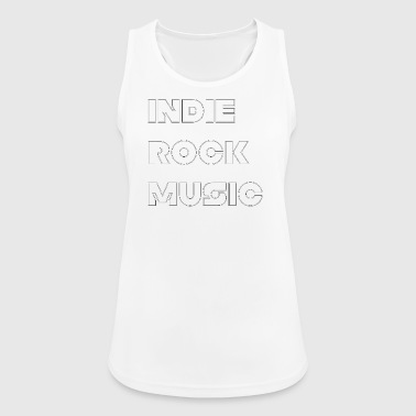 INDIE ROCK MUSIC - Women's Breathable Tank Top
