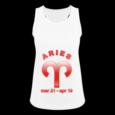 Aries Horoscope - Women's Breathable Tank Top
