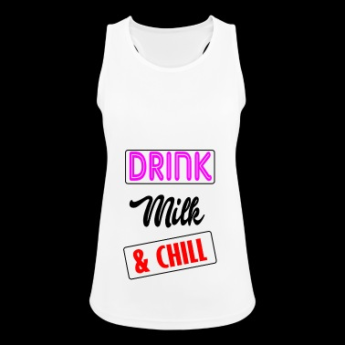 milk and - Women's Breathable Tank Top