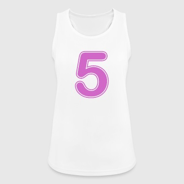 Number - Shirt number - 5 - Women's Breathable Tank Top