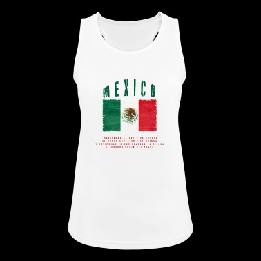 Mexican Flag Bandera Mexico - Frauen Tank Top atmungsaktiv