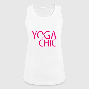 Yoga Chic - Top da donna traspirante