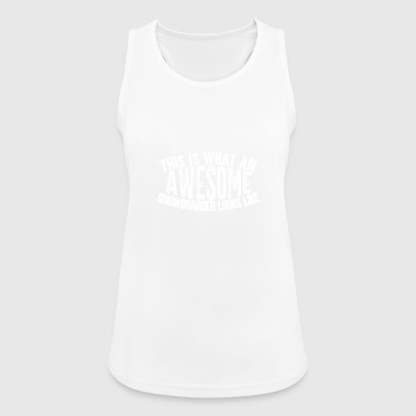 Awesome Boarder - Boarder Power - Women's Breathable Tank Top