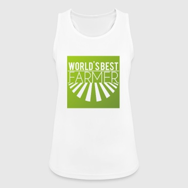 Farmer / Farmer / Farmer: World's Best Farmer - Women's Breathable Tank Top