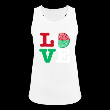 MADAGASCAR HEART - Women's Breathable Tank Top