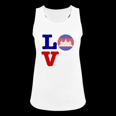 CAMBODIA HEART - Women's Breathable Tank Top
