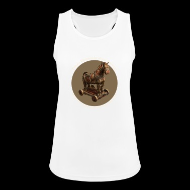 Beware of Greeks bearing gifts - Women's Breathable Tank Top