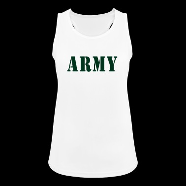 ARMY - Frauen Tank Top atmungsaktiv