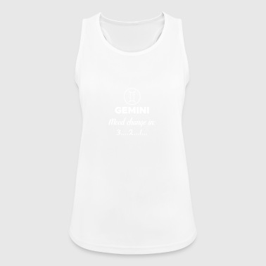 Twins: Change of mood in 1 ... 2 .. 3 ... - Women's Breathable Tank Top