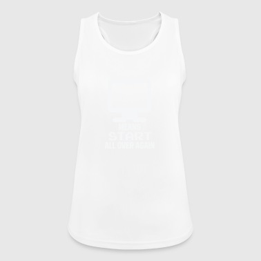 Gamer over - Now Start Over - Women's Breathable Tank Top