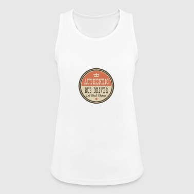 AUTHENTIC BUS DRIVER - BUS DRIVER - Women's Breathable Tank Top