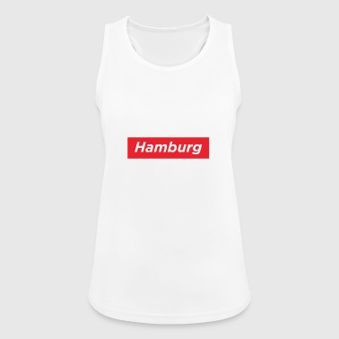 Hamburg City Design Streetwear - Pustende singlet for kvinner
