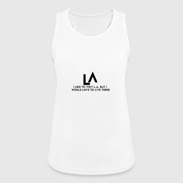 los Angeles - Women's Breathable Tank Top