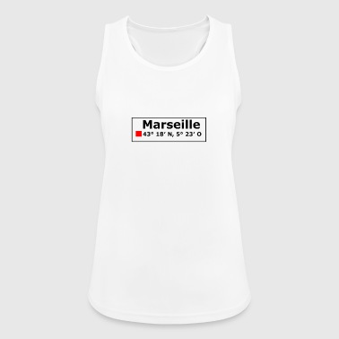 Marseille coordinates - Women's Breathable Tank Top
