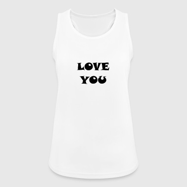 LOVE YOU LOVE YOU RELATIONSHIP - Women's Breathable Tank Top
