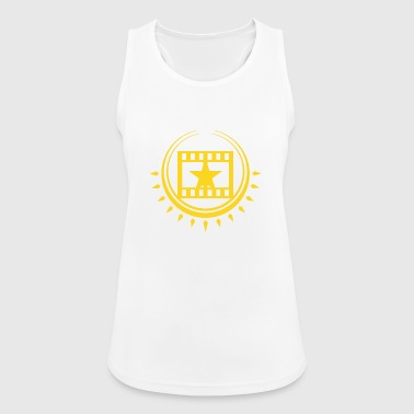 Cinema Cinema filmstrip with star - Women's Breathable Tank Top