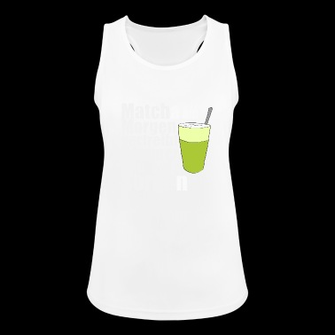 Matcha the morning morning gift birthday - Women's Breathable Tank Top