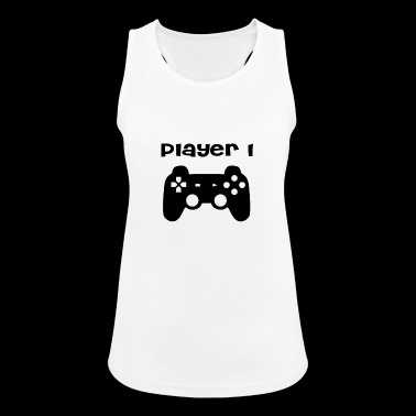 Player 1 - Frauen Tank Top atmungsaktiv