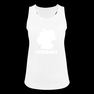 Germany - Women's Breathable Tank Top