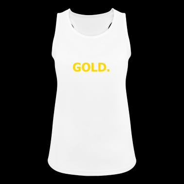 gold - Women's Breathable Tank Top
