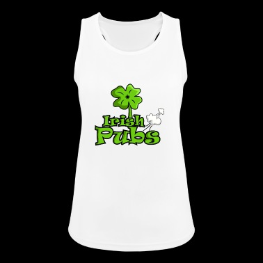 Irish pubs funny pubs shirt - Women's Breathable Tank Top