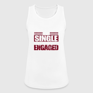 Single, Single, Single - Women's Breathable Tank Top