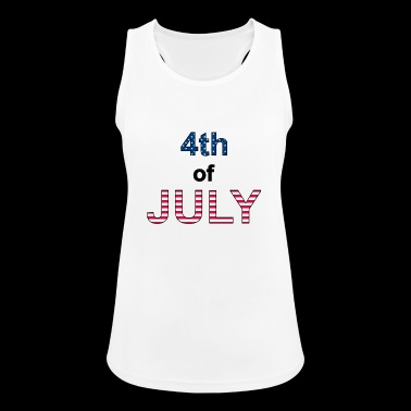 4th of July - Women's Breathable Tank Top