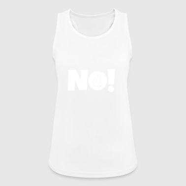 NO! Middle finger stinky finger - Women's Breathable Tank Top