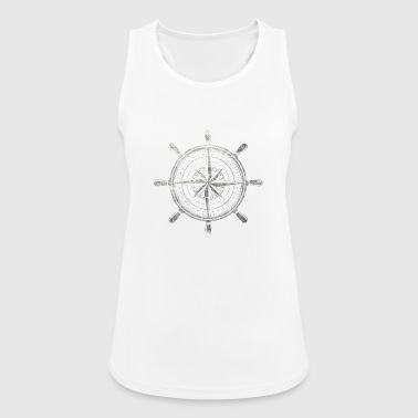 Compass grunge - Women's Breathable Tank Top