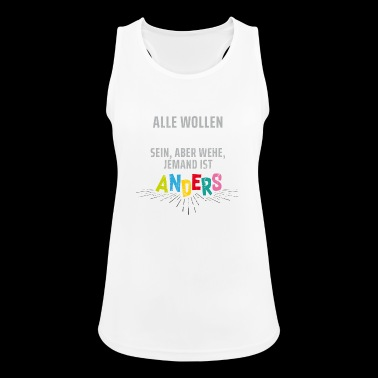 Everyone wants to be individual ... - Women's Breathable Tank Top
