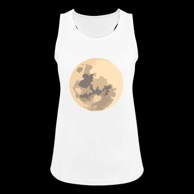 moon - Women's Breathable Tank Top