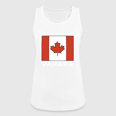 Canada Flag Canadian Flag - Women's Breathable Tank Top