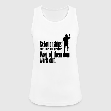 relationships - Women's Breathable Tank Top