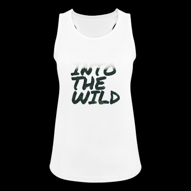 INTO THE WILD - Women's Breathable Tank Top