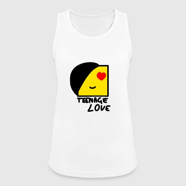 Emo Boy: Teenage Love - Pustende singlet for kvinner