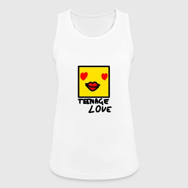 Selvbildepike: Teenage Love - Pustende singlet for kvinner