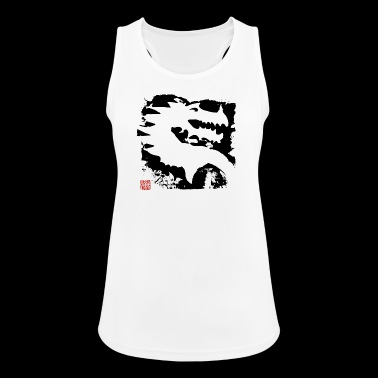 Black Dragon - Dame tanktop åndbar