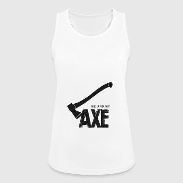 Me And My Ax - Women's Breathable Tank Top
